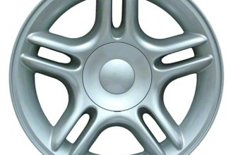 "CCI® ALY02105U10 - 17"" Remanufactured 5 Double Spokes Standard Finish Factory Alloy Wheel"