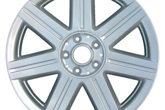 "CCI® ALY02229U20 - 18"" Remanufactured 7 Spokes Silver Factory Alloy Wheel"