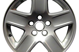 "CCI® ALY02246U85 - 17"" Remanufactured 5 Spokes Aftermarket Chrome Factory Alloy Wheel"