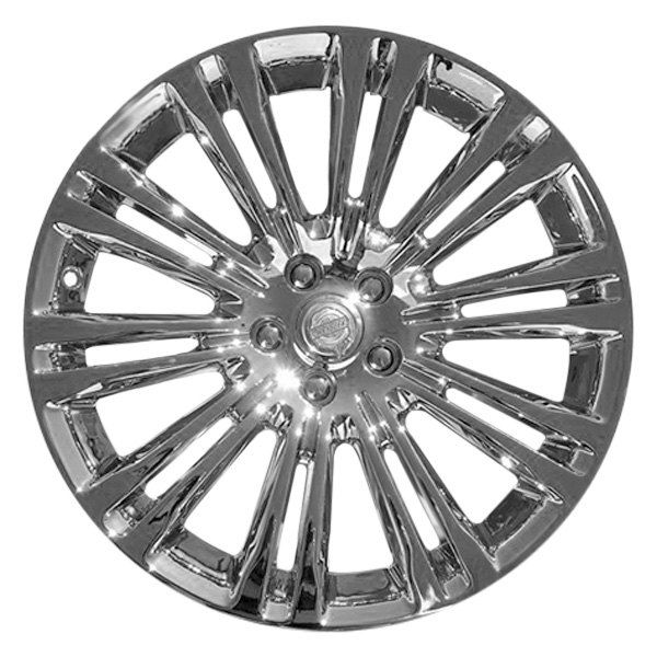 "CCI® - 19"" Remanufactured 10 Double Spokes Light PVD Chrome Factory Alloy Wheel"