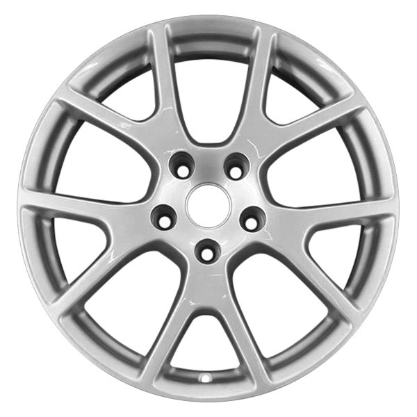 "CCI® - 19"" Remanufactured 5 Y Spokes Light Smoked Hyper Silver Full Face Factory Alloy Wheel"
