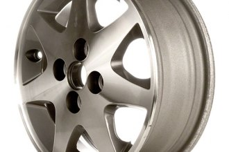 "CCI® - 14"" Remanufactured Front 7-Spoke Standard Finish Factory Alloy Wheel"