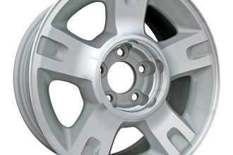 "CCI® - 16"" 5-Straight-Spoke Silver Factory Replica Alloy Wheel"