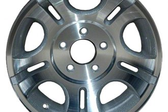 "CCI® ALY03431U10 - 15"" Remanufactured 5 Shaped Slots Standard Finish Factory Alloy Wheel"