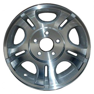 "CCI® - 15"" Remanufactured 5 D Shaped Slots Factory Alloy Wheel"