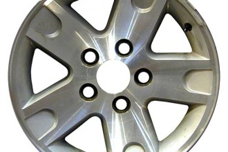 "CCI® - 16"" 5-Spoke Silver Factory Replica Alloy Wheel"