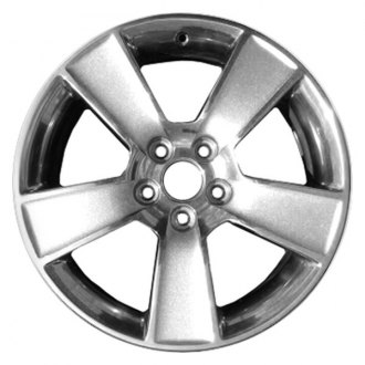 "CCI® - 18"" Remanufactured Rear 5 Flat Spokes Factory Alloy Wheel"
