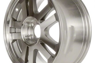 "CCI® - 17"" 5-Double-Spoke Machined with Charcoal Vents Factory Replica Alloy Wheel"