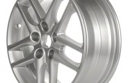 "CCI® - 16"" 5-Double-Spoke Silver Factory Replica Alloy Wheel"