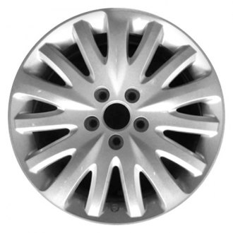 CCI® - 17 Remanufactured 15-Spoke Silver Factory Alloy Wheel