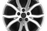 "CCI® - 18"" Remanufactured 10-Spoke Charcoal Gray Factory Alloy Wheel"