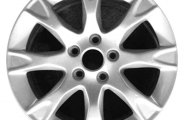 "CCI® - 17"" Remanufactured 8-Spoke Bright Polished Factory Alloy Wheel"