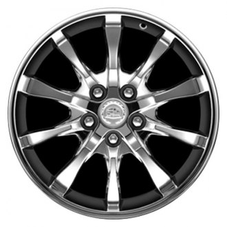 "CCI® - 18"" Remanufactured 10-Spoke Chrome Factory Alloy Wheel"