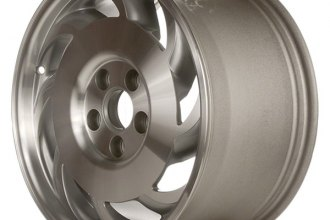 "CCI® ALY05007R10 - 17"" Remanufactured Passenger Side 8 Slots Standard Finish Factory Alloy Wheel"