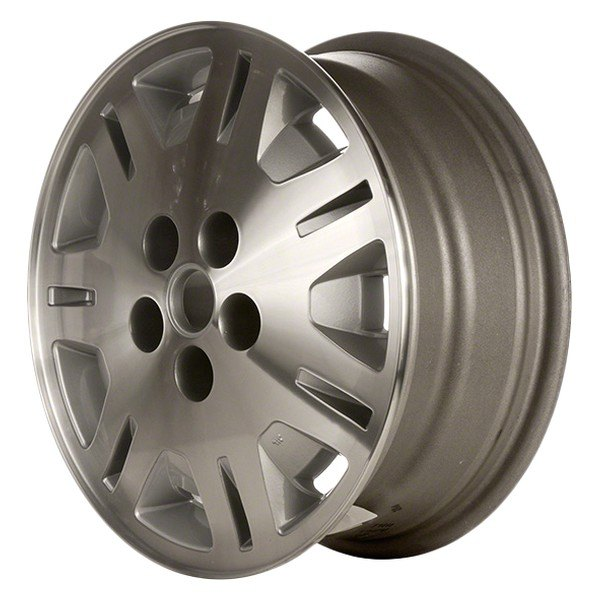 "CCI® - 16"" Remanufactured 14 Slots Flat Silver Factory Alloy Wheel"