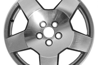 "CCI® - 18"" Remanufactured 5-Spoke Bright Polished Factory Alloy Wheel"