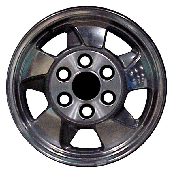 "CCI® - 16"" Remanufactured 5 Spokes Machined and Medium Charcoal Factory Alloy Wheel"