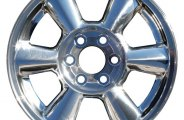 "CCI® - 17"" Remanufactured 6-Rounded-Spoke Factory Alloy Wheel"