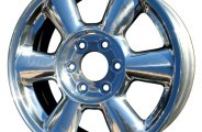 "CCI® - 17"" 6-Rounded-Spoke Bright Polished Factory Replica Alloy Wheel"