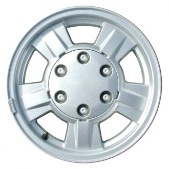"CCI® - 15"" Remanufactured Rear 5 Spokes Silver Factory Alloy Wheel"