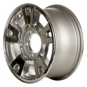"CCI® - 15"" Remanufactured 9 Spokes Chrome Factory Alloy Wheel"