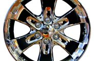"CCI® - 20"" Remanufactured 6-Spoke Chrome Factory Alloy Wheel"