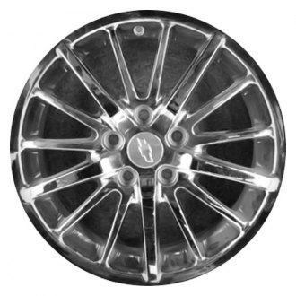 "CCI® - 17"" Remanufactured 15 Spokes Chrome Factory Alloy Wheel"