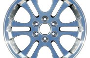 "CCI® - 18"" Remanufactured 6-Double-Spoke Chrome Factory Alloy Wheel"