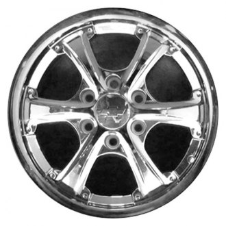 "CCI® - 18"" Remanufactured 6 Spokes with Screw at End Chrome Factory Alloy Wheel"
