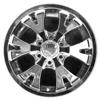"CCI® - 18"" Remanufactured 6 Spokes with Y at End Chrome Factory Alloy Wheel"