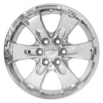 "CCI® - 18"" Remanufactured 6 Spokes Has Indent by Lugs Chrome Factory Alloy Wheel"