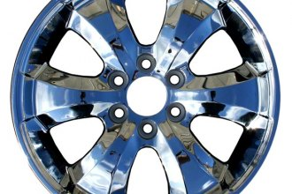 "CCI® - 20"" Remanufactured 6-Flat-Face-Spoke Chrome Factory Alloy Wheel"