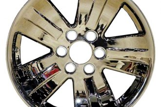 "CCI® - 20"" Remanufactured 5-Spoke with Raised Ridge Chrome Factory Alloy Wheel"
