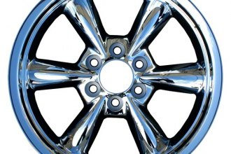 "CCI® - 20"" Remanufactured 6-Rounded-Spoke Chrome Factory Alloy Wheel"