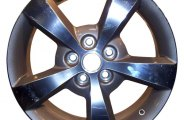 "CCI® - 17"" 5-Spoke Bright Polished Factory Replica Alloy Wheel"