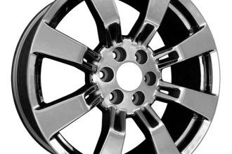 "CCI® - 22"" Rear 8-Spoke Chrome Factory Replica Alloy Wheel"