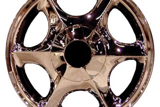 "CCI® - 16"" Remanufactured 6 Spokes Chrome Factory Alloy Wheel"