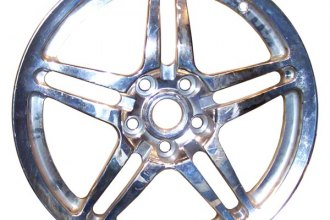 "CCI® - 17"" Remanufactured 5-Split-Spoke Bright Polished Factory Alloy Wheel"