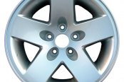 "CCI® - 17"" Remanufactured 5-Spoke Chrome Factory Alloy Wheel"