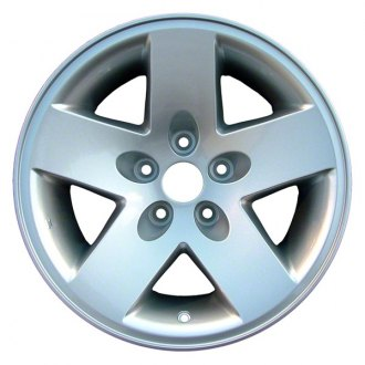 CCI® - 17 Remanufactured 5-Spoke Chrome Factory Alloy Wheel