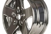 "CCI® - 17"" Remanufactured 5-Spoke Light PVD Chrome Factory Alloy Wheel"