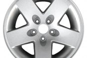 "CCI® - 17"" Remanufactured 5-Spoke Dark PVD Chrome Factory Alloy Wheel"