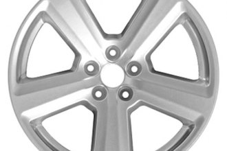 "CCI® - 18"" Remanufactured 5 Spokes Aftermarket Chrome Factory Alloy Wheel"