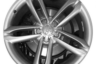 "CCI® - 19"" Remanufactured 5-Double-Spoke All Painted Silver Metallic Factory Alloy Wheel"