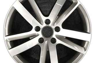 "CCI® - 20"" Remanufactured 5 Double Spokes Machined and Charcoal Factory Alloy Wheel"