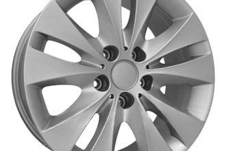 "CCI® - 17"" Remanufactured 10-Spoke All Painted Silver Factory Alloy Wheel"