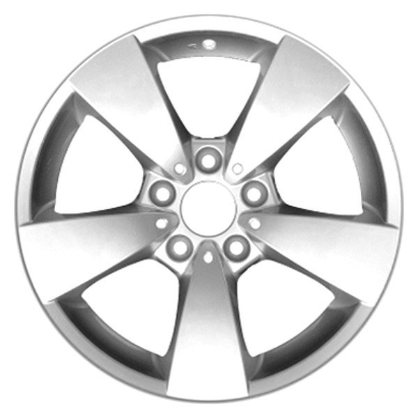 "CCI® - 17"" Remanufactured 5 Spokes All Painted Silver Factory Alloy Wheel"