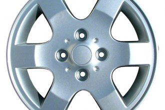 "CCI® ALY62430U20 - 16"" Remanufactured 6 Spokes Silver Factory Alloy Wheel"
