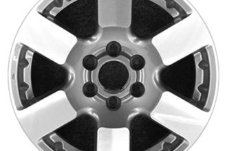 "CCI® ALY62463U35 - 16"" Remanufactured 6 Spokes Medium Gray Factory Alloy Wheel"