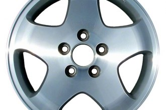 "CCI® ALY63781U10 - 16"" Remanufactured 5-Spoke Standard Finish Factory Alloy Wheel"
